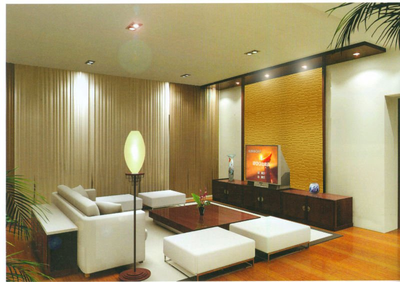 Hot Interior Wall Decoration Material Texture Mdf Indoor Paneling