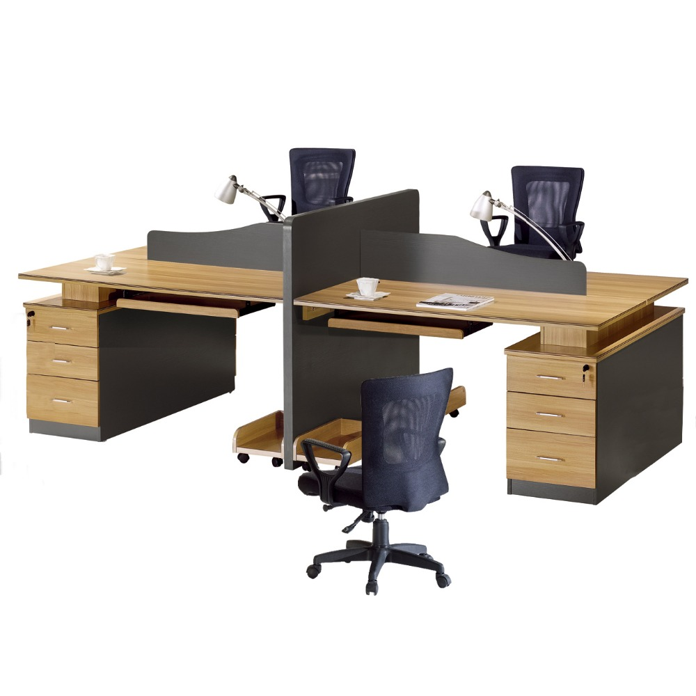 """Office Furniture Type and MDF Material 4 Seat Office Workstation Cubicle armario estante de livros workstation wood chipper 4 p"