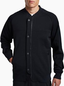 Zipped Baseball Sweatshirt Jacket Without Hood - Buy Sweatshirt ...