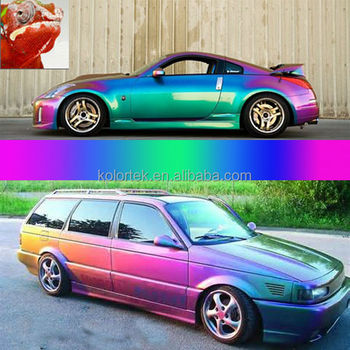 Colour Changing Paint For Cars White