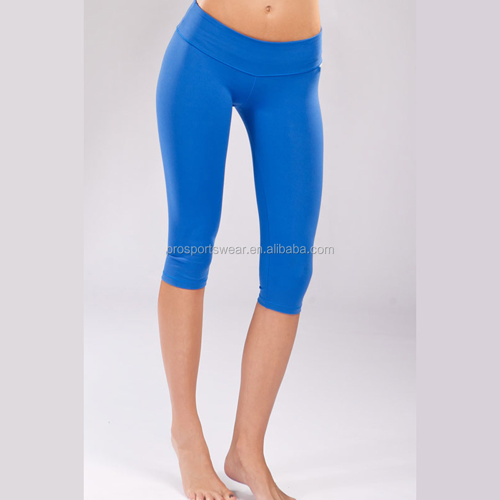 Hot Sale Cheap Fitness Capri Yoga Pants Compression Tights For ...