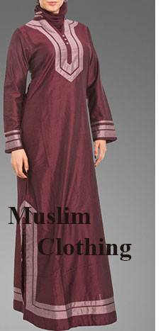 New Modern Muslim Women Gender Embroidered Tunic Elegant Ladies Tops Skirt Islamic Clothing