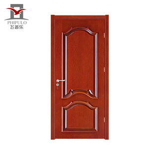 Modern custom design mdf wood doors prices