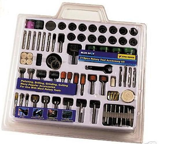 216 unid mini rotary taladro el ctrico hobby tool kit de - Accesorios para taladros electricos ...