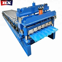 Russian-Style1100 Used Galvanised Glazed Roof Tile Forming Machine
