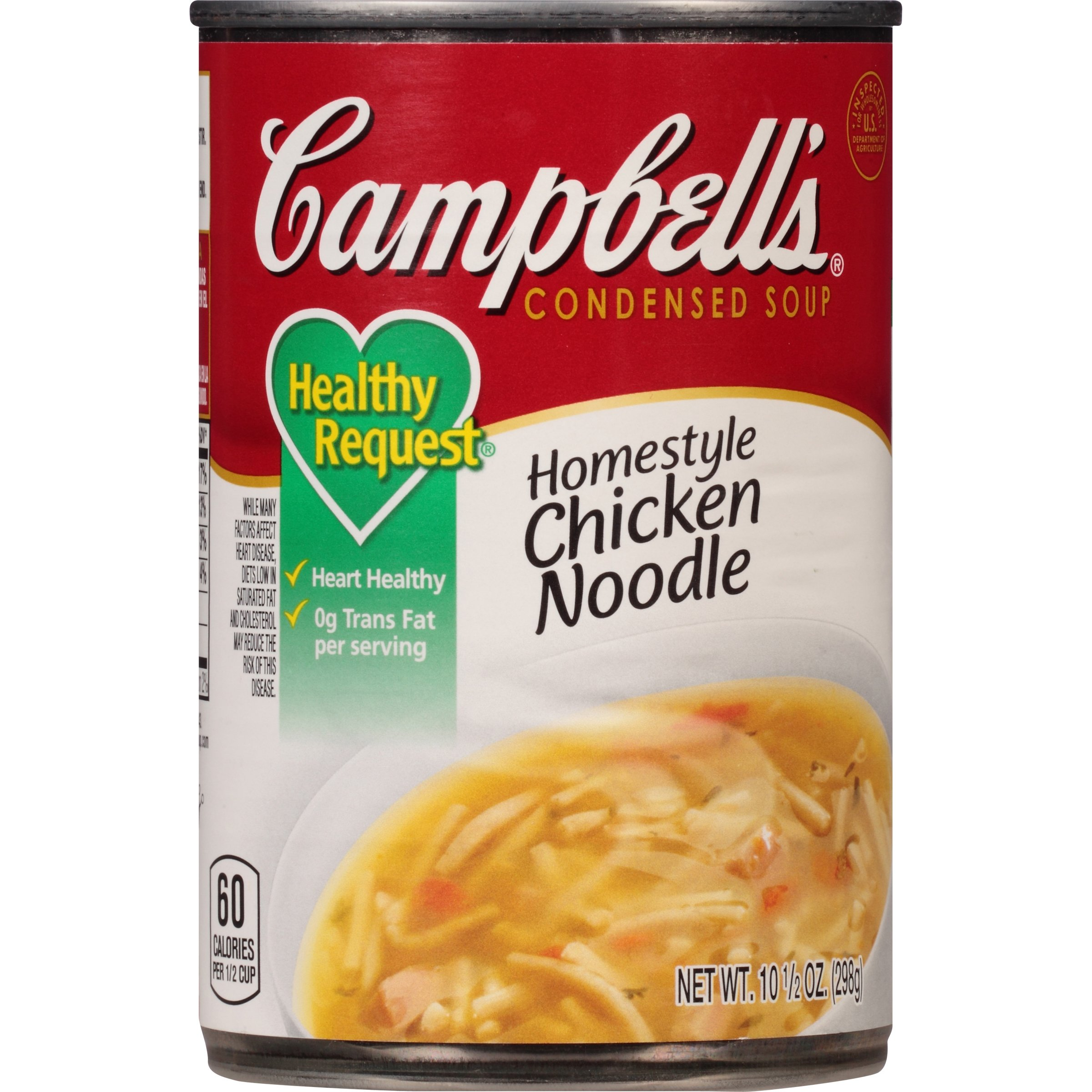 Campbell's Healthy Request Condensed Soup, Homestyle Chicken Noodle, 10.5 Ounce