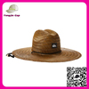 2016 Top sale Farmers wholesale cowboy mexican sombrero mat Wide brim grass straw hats