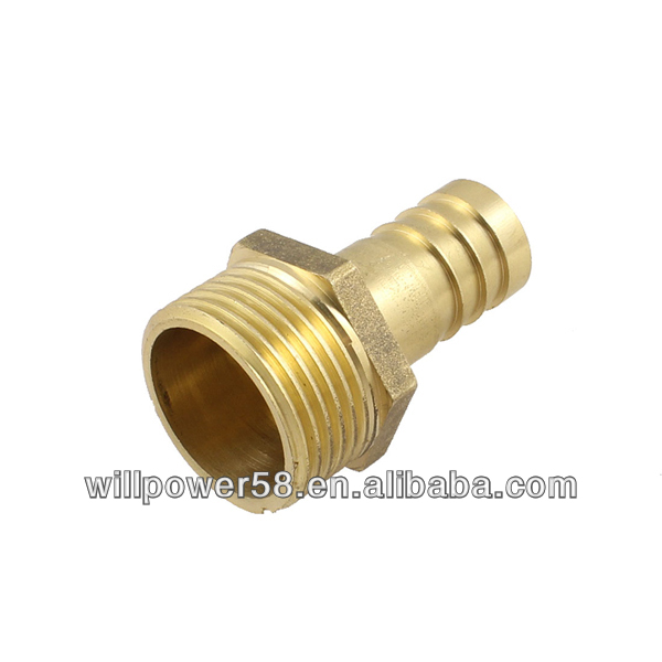 Thread air gas hose Barb fitting