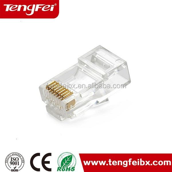 Lan Wire Connector Rj 45 Cat.5e/cat 6 Rj45 Connectors - Buy Rj45 ...