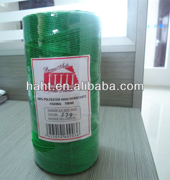 china best selling polyester filamter high strength nylon twine