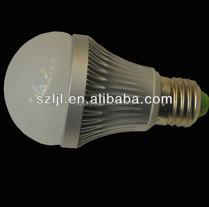60G Led Light Bulbs Energy Saving led bulb e27 5 watts and 7 watts