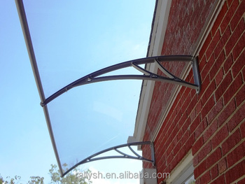 Glass Canopy Over Front Doors Curved Design For Home Deco Hardware ...