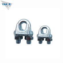 Din 741 Steel Wire Rope Clips , Wire Rope Clamp in Hardware