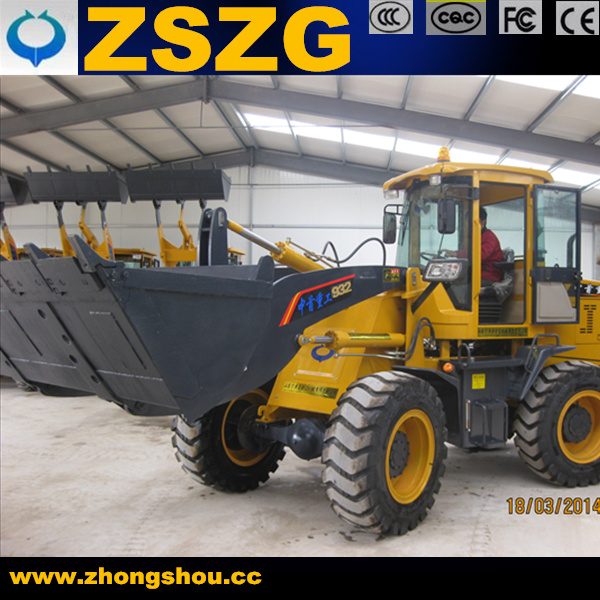 ZSZG ZL30 80KW 3Ton used wheel loaders for sale