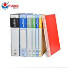 printing document custom refillable sheet hard plastic book cover design pocket display book clear file folder a4