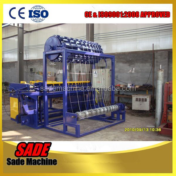 wire machines manufactures china hinge joint fence machine grassland wire mesh fence machine