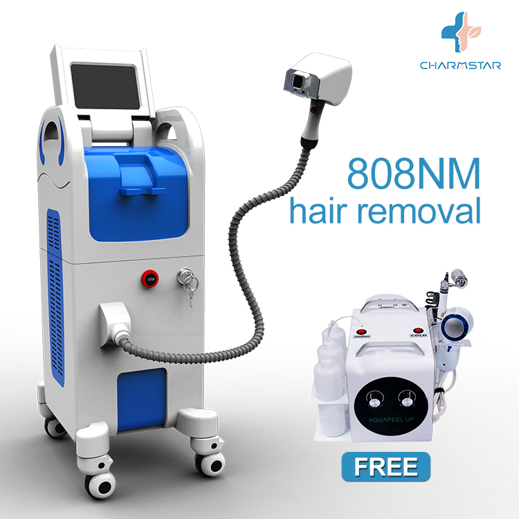 Most effective beauty salon machine diode laser 808 nm for hair removal