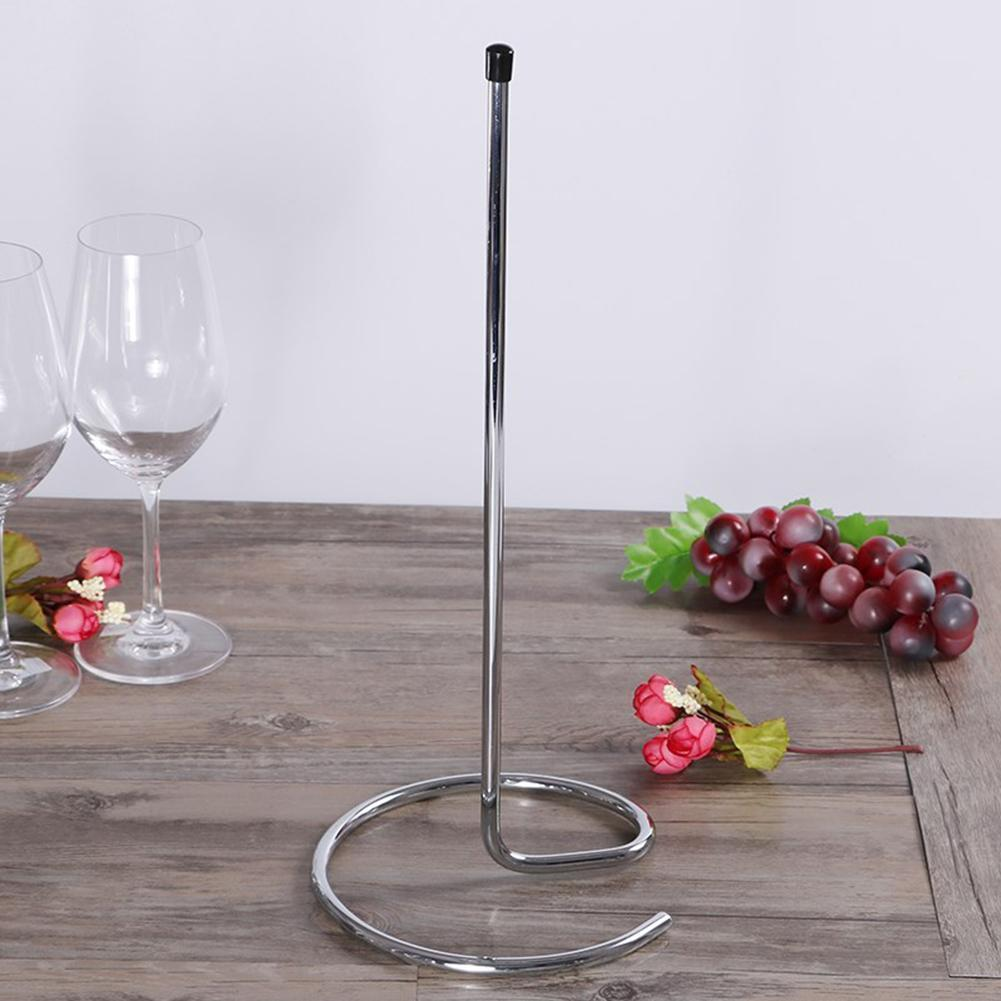 cheap wholesale Chrome Plated Wine Decanter Drying Stands