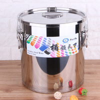 Chinese kitchenware stainless steel cooking pot 100l stock pot