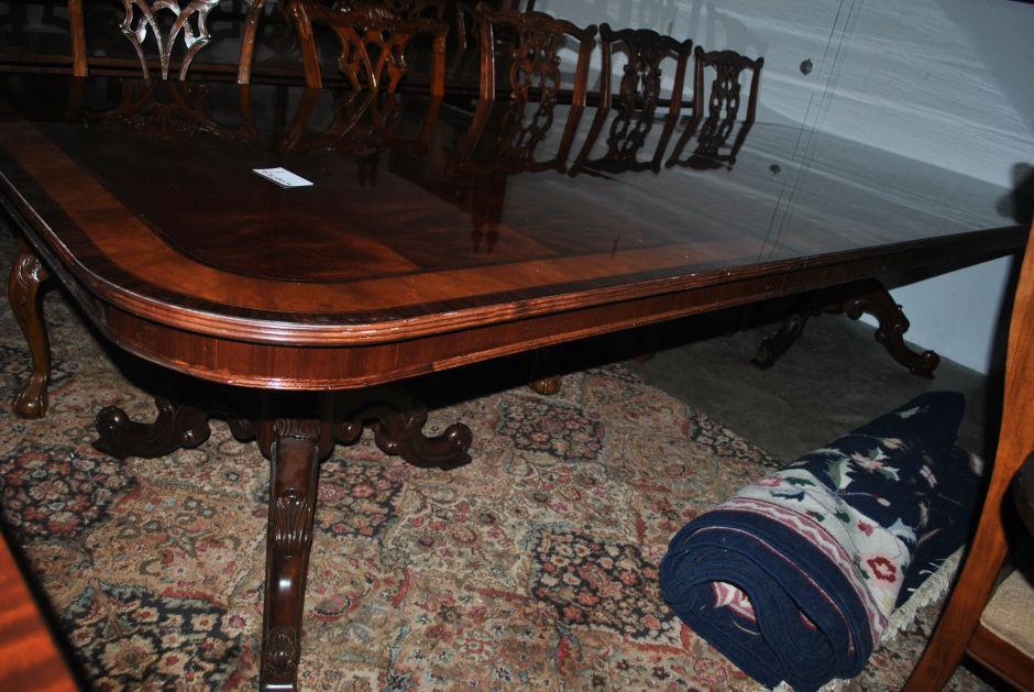 drexel robinson große 11 m lang mahagoni esstisch, uvp $ 8,000, Esstisch ideennn
