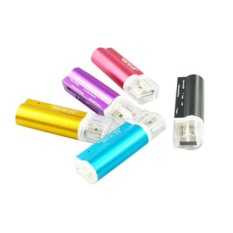 USB 2.0 all in one memory smart lighter card reader