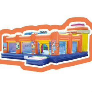 The Toddler Inflatable Fun City,CH-IF090271,Inflatable Games,Cheer