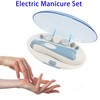 6 in 1 Electric Manicure Pedicure Set, Professional Nail Care Tools and Equipment