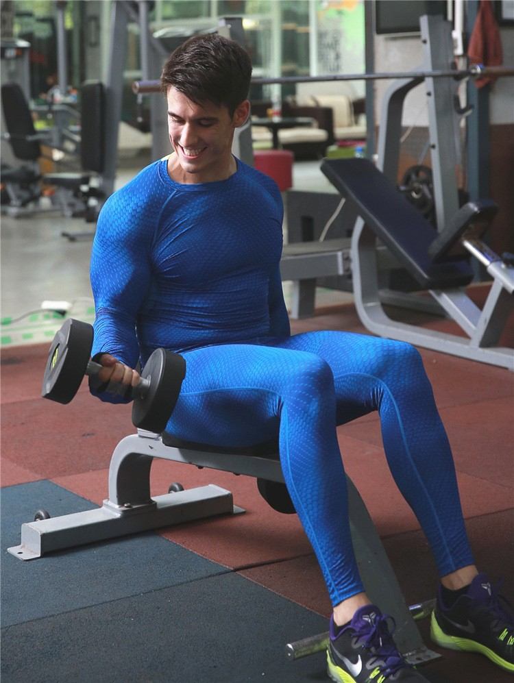 Compression leggings for man fitness wear gym outfits XL 15
