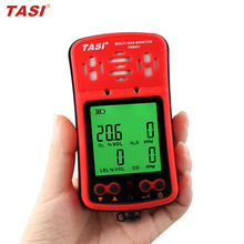 TA8421 4 in 1 Oxygen, Carbon Monoxide, Hydrothion, Combustible Gas multi gas detector