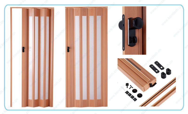 Accordion Bathroom Doors accordion door 85*205 b series - buy accordion door,pvc plastic