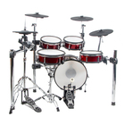 Lemon T850 mesh head wooden digital drum set 9-piece electronic drum set percussion jazz