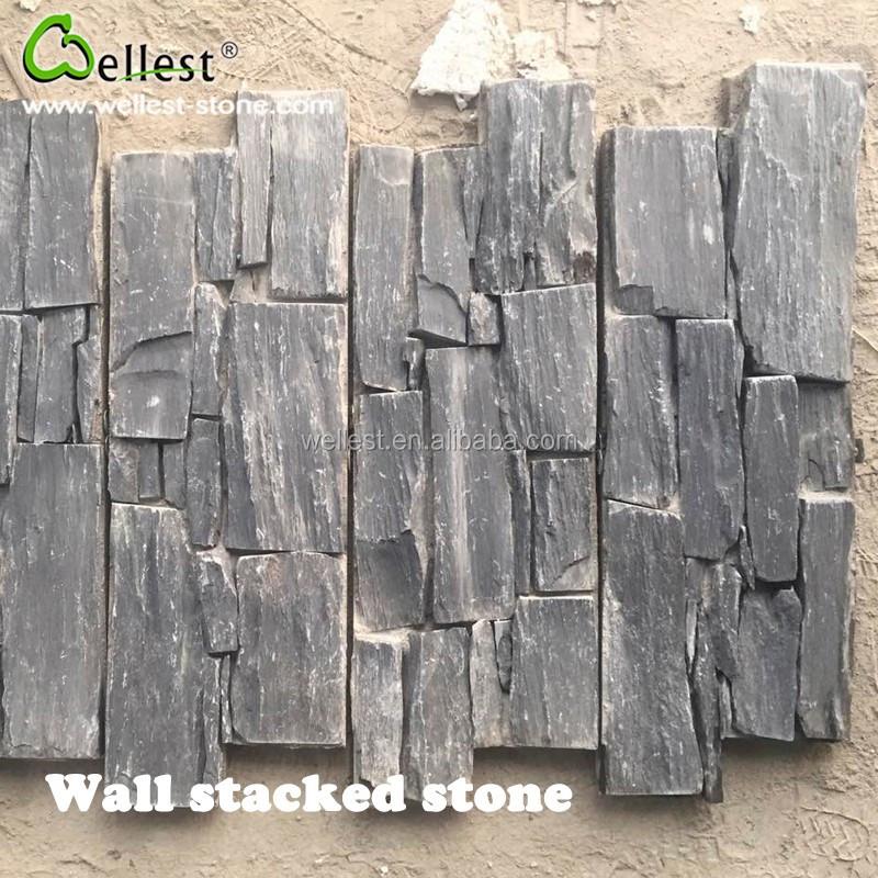 natural espalda apiladas paneles de pared de hormign para de paredes