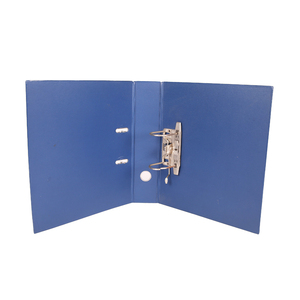 Best selling office 3 inch plastic pp box lever arch 2 ring binders files folder custom with strong cover