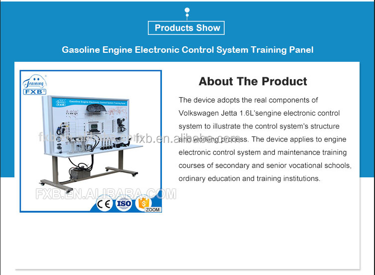 Training Panel For The Electronic Fuel Injection (efi) System Of Gasoline  Engine/ School Laboratory Equipment - Buy Lab Equipment,Gasoline
