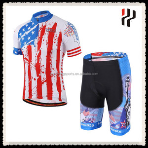 Bespoke cycling clothing bike riding gear cyclist gear for USA