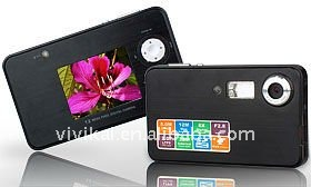Waterproof 12MP digital camera with 2.0inch screen, 8X digital zoom and 12mm Ultra Slim Size
