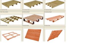 Aldera PALLETS Wood Pallets For Sale Turkish Manufacturers Euro Pallet