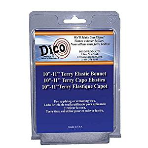 "Dico 10"" Terry Cloth Bonnet"