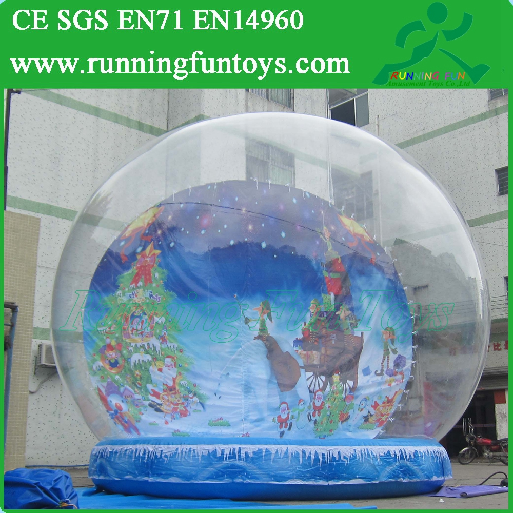 Cheap Large Inflatable Snow Globe, Photo Snow Globe Xmas Decorations