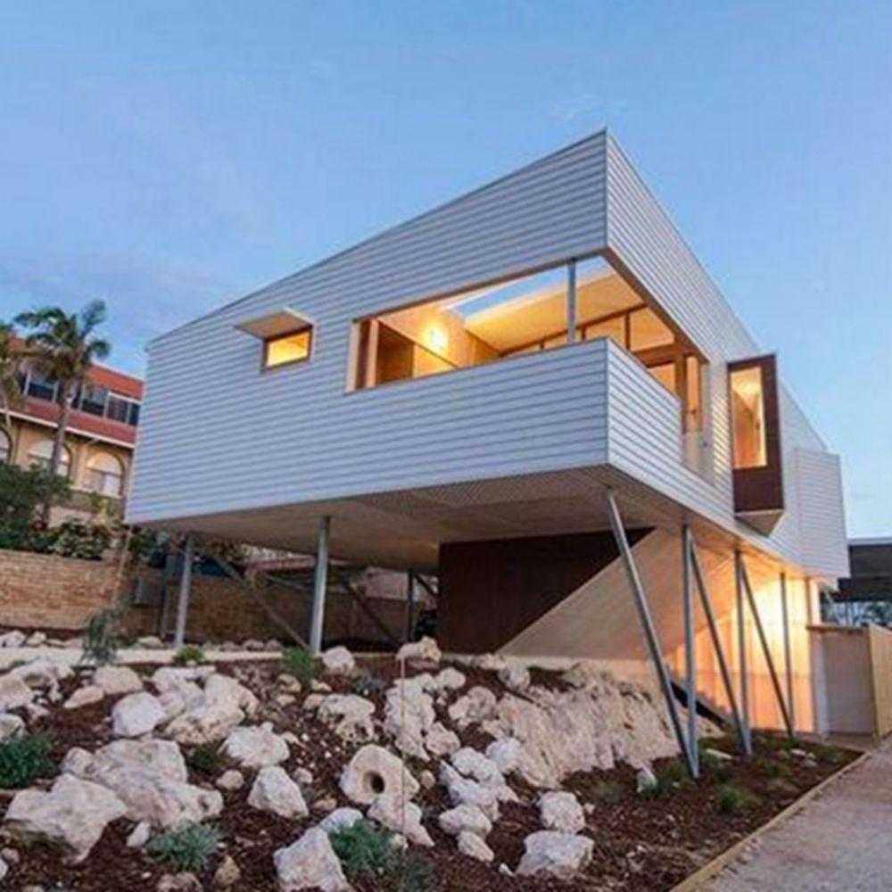 Baorun moderna vida moderna casa prefabricada villa de lujo de dise o villas identificaci n del - Casa prefabricada diseno ...