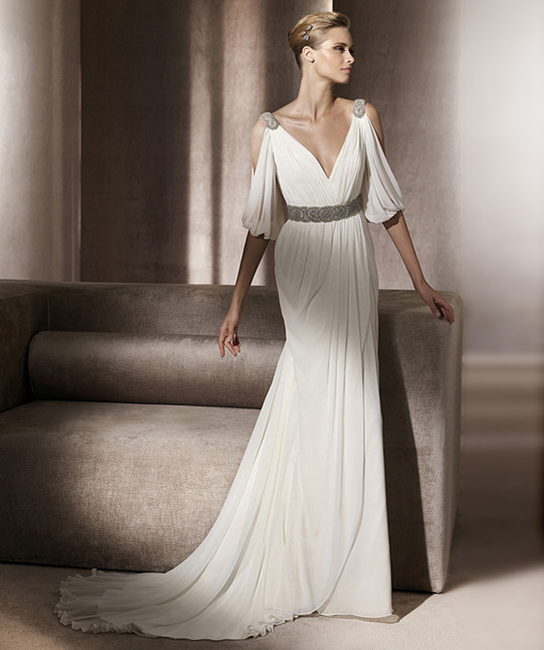 Grecian Gowns Wedding: Popular Grecian Wedding Dress-Buy Cheap Grecian Wedding