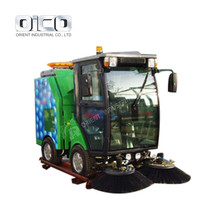 High Efficiency Diesel Sweeper Environmental Protection Gas Sweeper