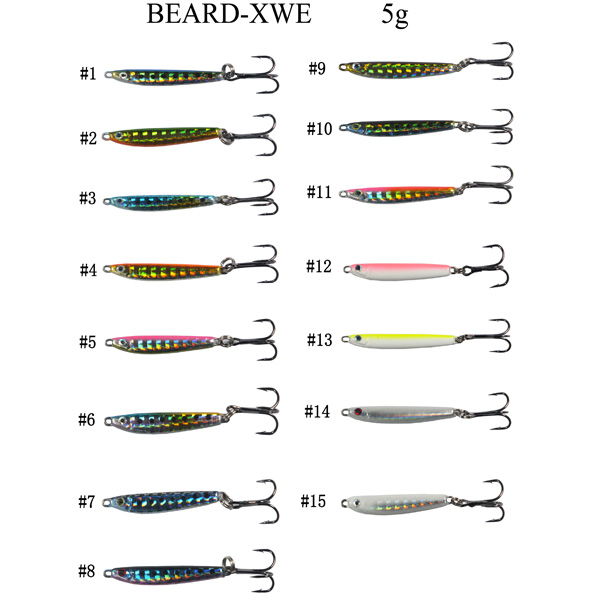 Factory all colors hard minnow fishing lure custom china manufacturer