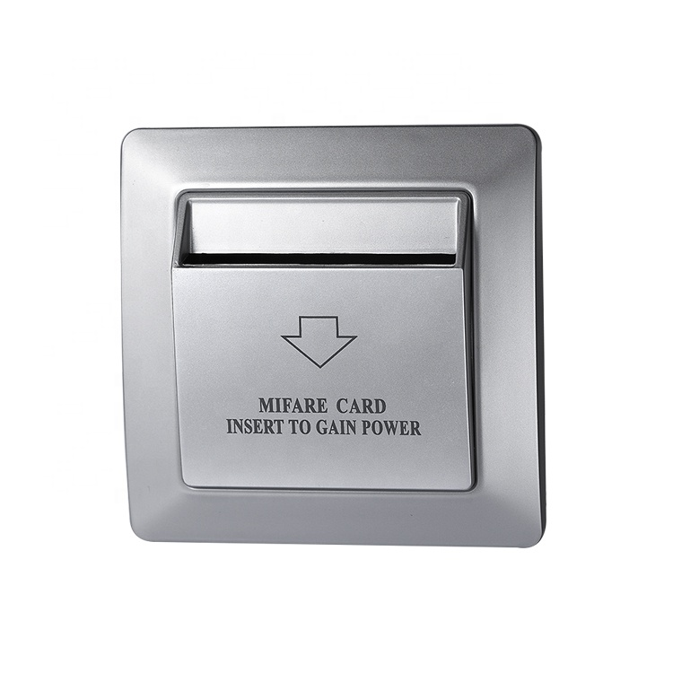 Able 13.56mhz White Hotel Mifare S50 Rfid Card Switch With Room Number And Check In Time Limit Function Energy Saver Saving Switch Access Control