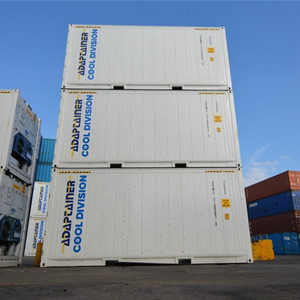 Freon 404R 404A 134A type used reefer deep freezing container