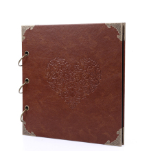 26*27 cm Gaufré D'album <span class=keywords><strong>Photo</strong></span> <span class=keywords><strong>En</strong></span> Cuir Vintage Scrapbook <span class=keywords><strong>En</strong></span> <span class=keywords><strong>Relief</strong></span> D'album <span class=keywords><strong>Photo</strong></span> <span class=keywords><strong>En</strong></span> Cuir
