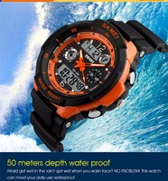 Top Selling Brand Skmei Dual Time Skmei Digital Watch Instructions ...