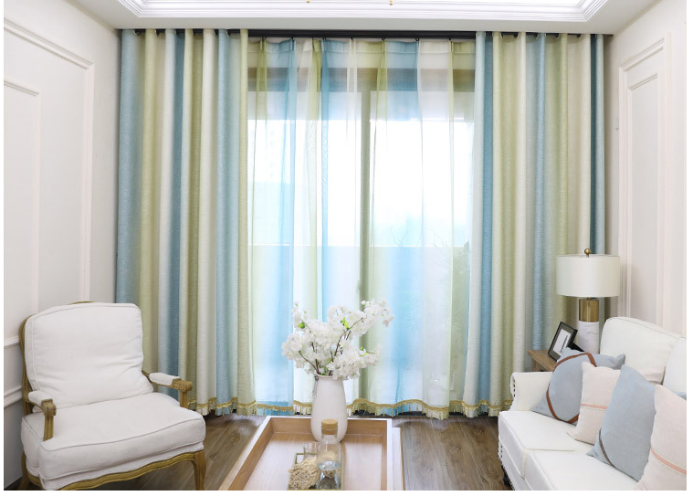 For Home Blackout Printed Valance Fabric, China Luxury Curtains Designs Curtains Printed#