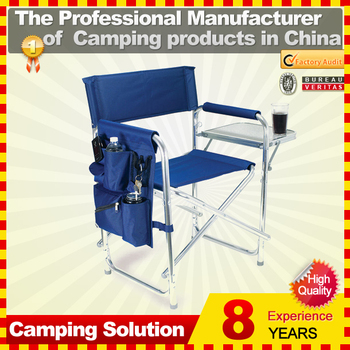 Lightweight Aluminum Folding Director Chair For Camping Fishing ...