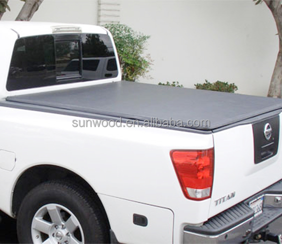 china manufacturer 4x4 hard trifold bed cover